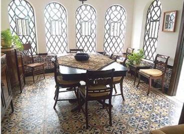 Casa Vintage Dos Anos 50 Com Ares Nostálgicos