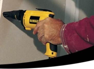 Parafusadeira Sem Fio Para Drywall É A Única Do Mercado