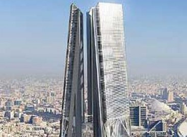 Construção de torre de 612 m, parada pela crise