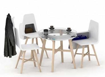 Mesas e Cadeiras Versáteis