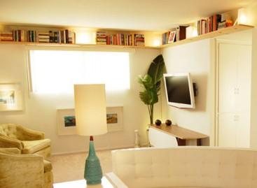 Reformas, aproveitamento de pequenos espaços