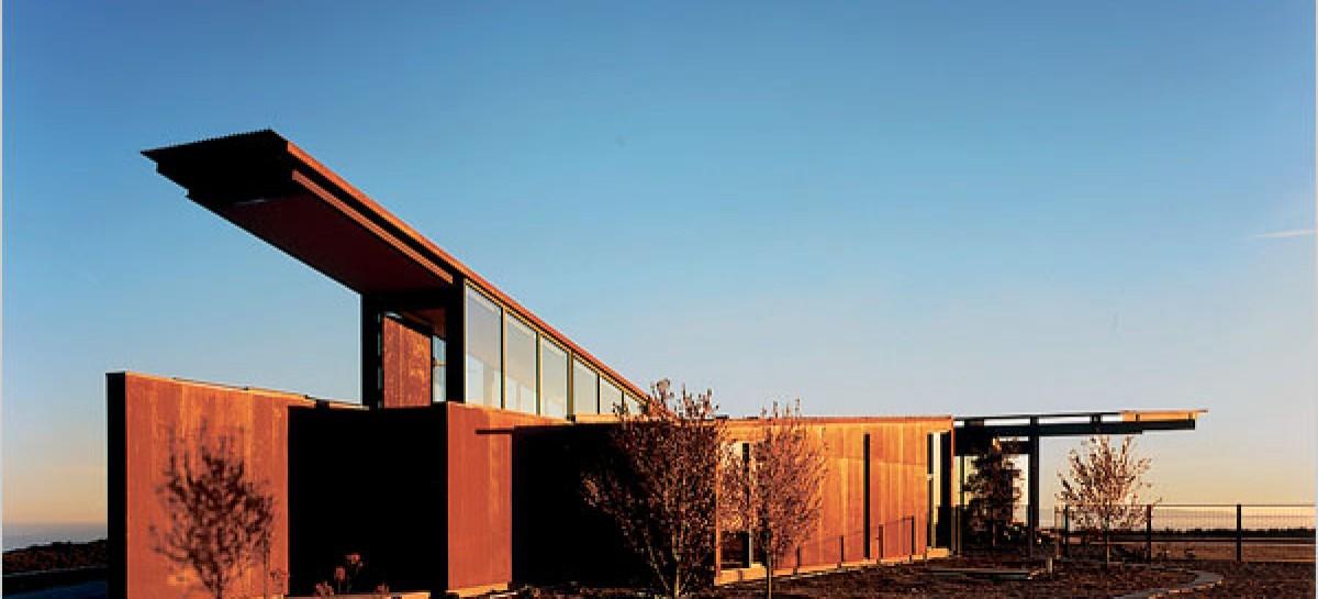 Casas, estrutura metálica