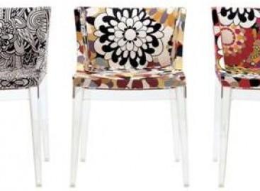 Cadeiras com grife mundial