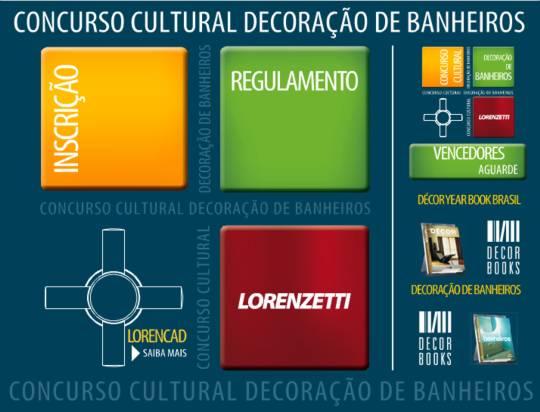 Concurso cultural decoração de banheiros