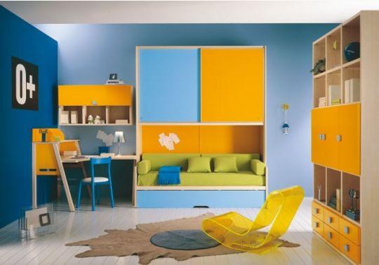 Decoração Dormitório Infantil, 45 Idéias Reforma Fácil ~ Quarto Planejado Infantil Italinea