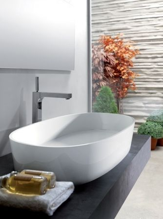 Banheiros: Lançamento, CUBAS de pedra calcária