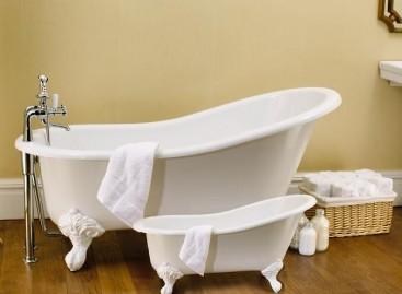 O banho de glamour das Banheiras Vitorianas