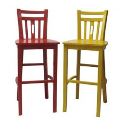 Cadeira também é arte e alegra ambiente!