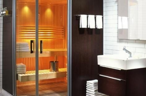 Instale sauna seca e úmida em casa
