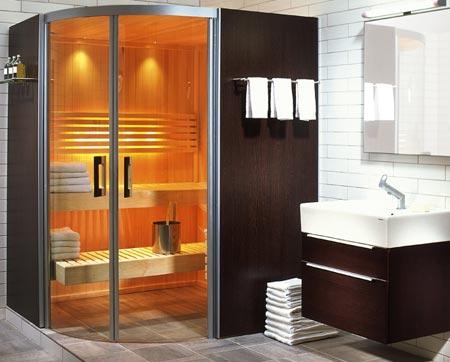 Relaxe em casa com sauna