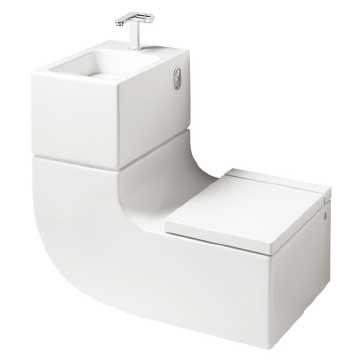 Lavatório com sanitário: conforto que faz bem para o bolso