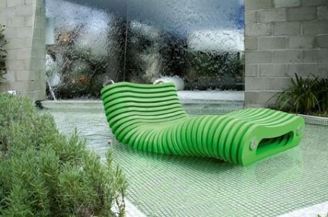 Chaise-longues oferecem conforto e sofisticação na hora da diversão!