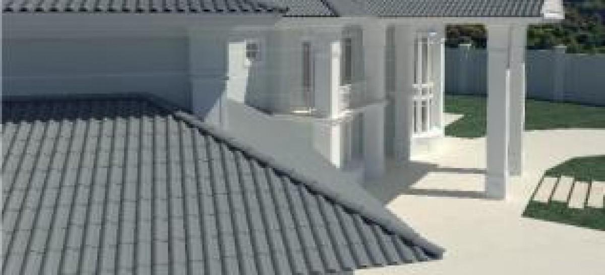 Telhado de alto padrão