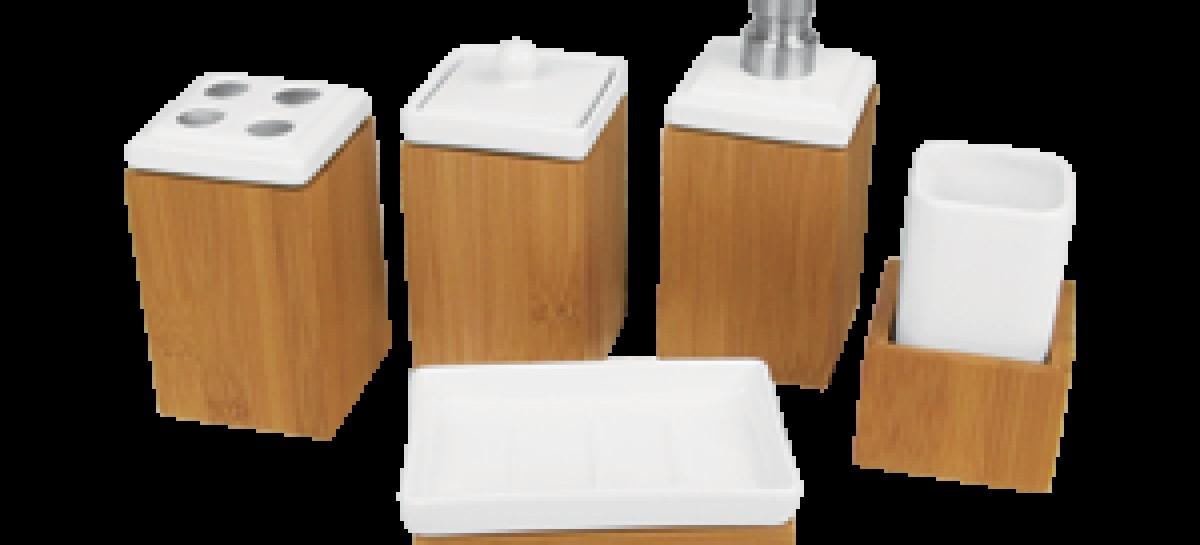 Bambu: ecológico, ele reveste utensílios domésticos e peças decorativas