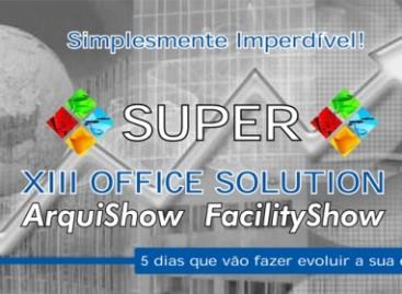13º Office Show, Feira de produtos e serviços para Arquitetura