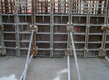 Contrução com formas metálicas