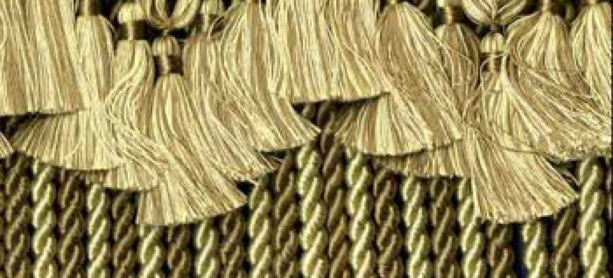 Detalhes que complementam a decoração; Passamanaria