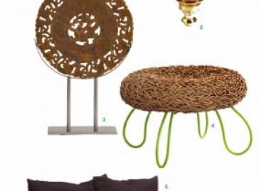 Expresso do Oriente; móveis e objetos de decoração