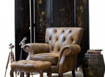 A mistura de móveis clássicos e contemporâneos