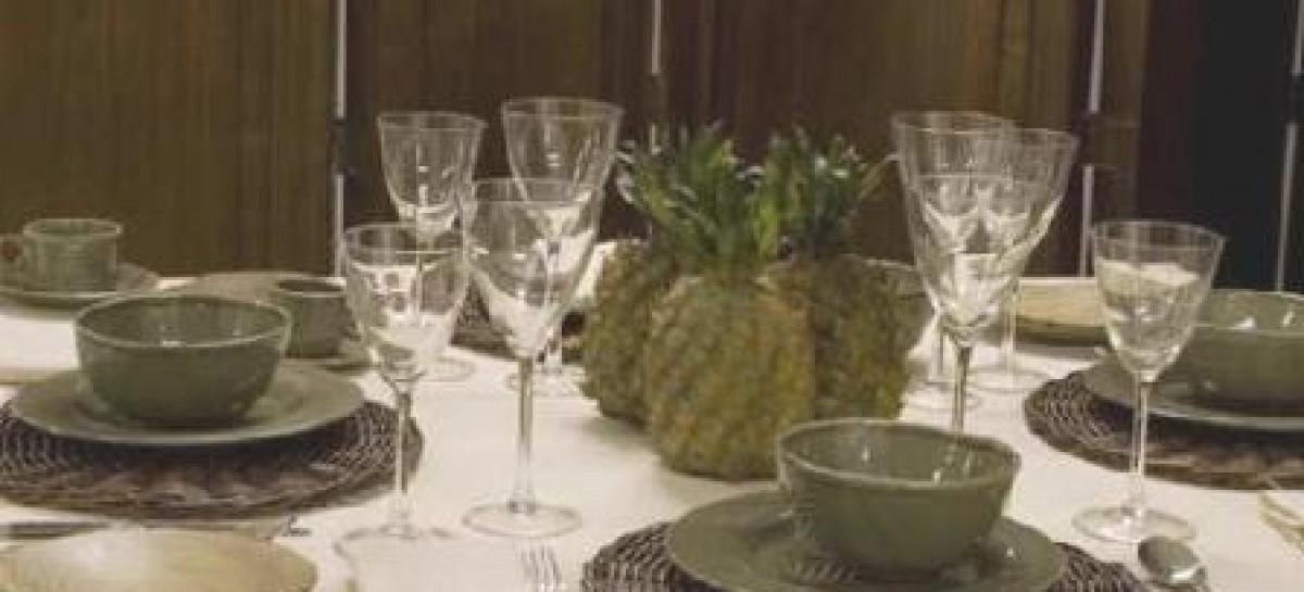 Mesas decoradas para ocasiões especiais
