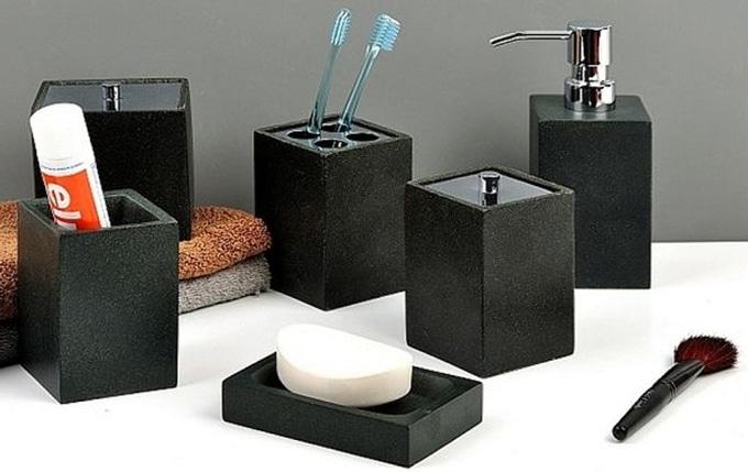 Acessórios para banheiro, faça uma composição incrível!  Reforma Fácil -> Acessorios Para Pia De Banheiro