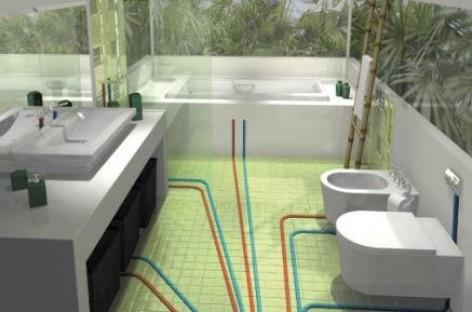 Instalação hidráulica ponto a ponto