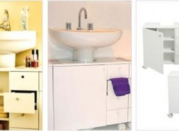 Nichos e módulos para banheiros pequenos
