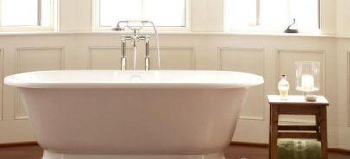 A sofisticação das banheiras vitorianas