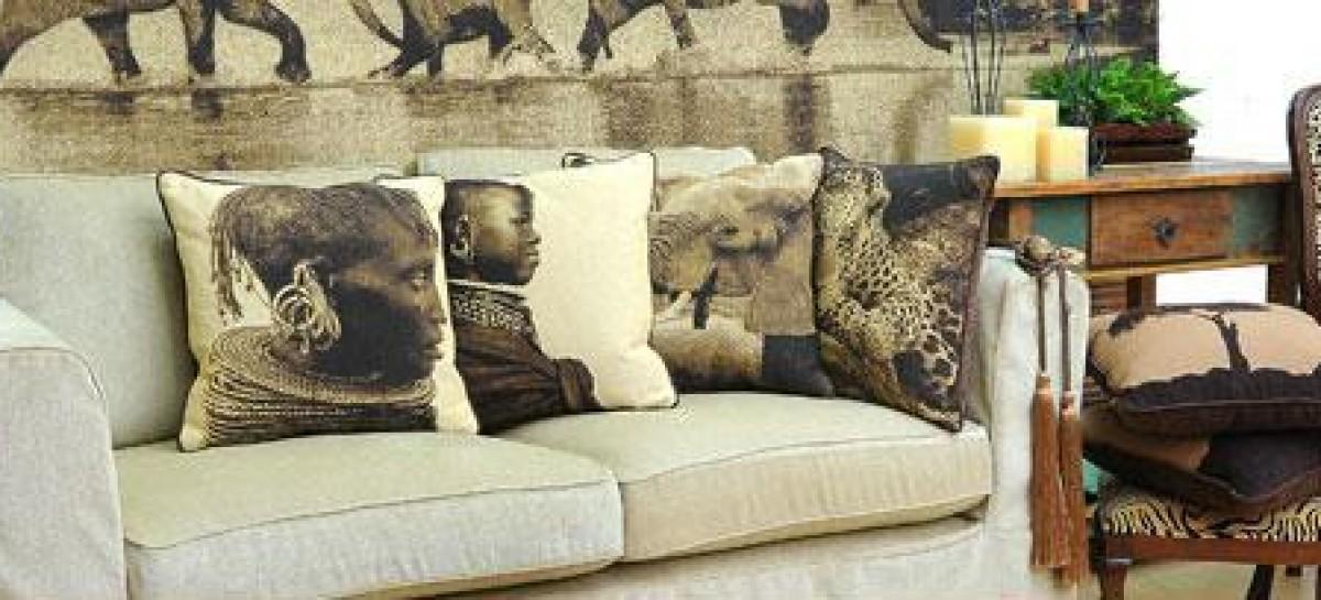 Personalize a casa com a decoração africana