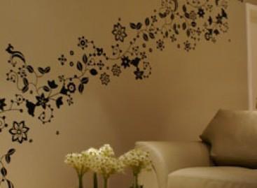 Personalize o ambiente com adesivos de parede