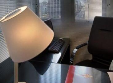 Iluminação direta para o escritório