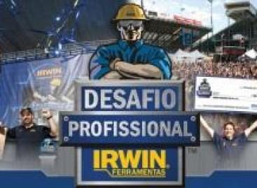 IRWIN busca o profissional da construção mais rápido do mundo