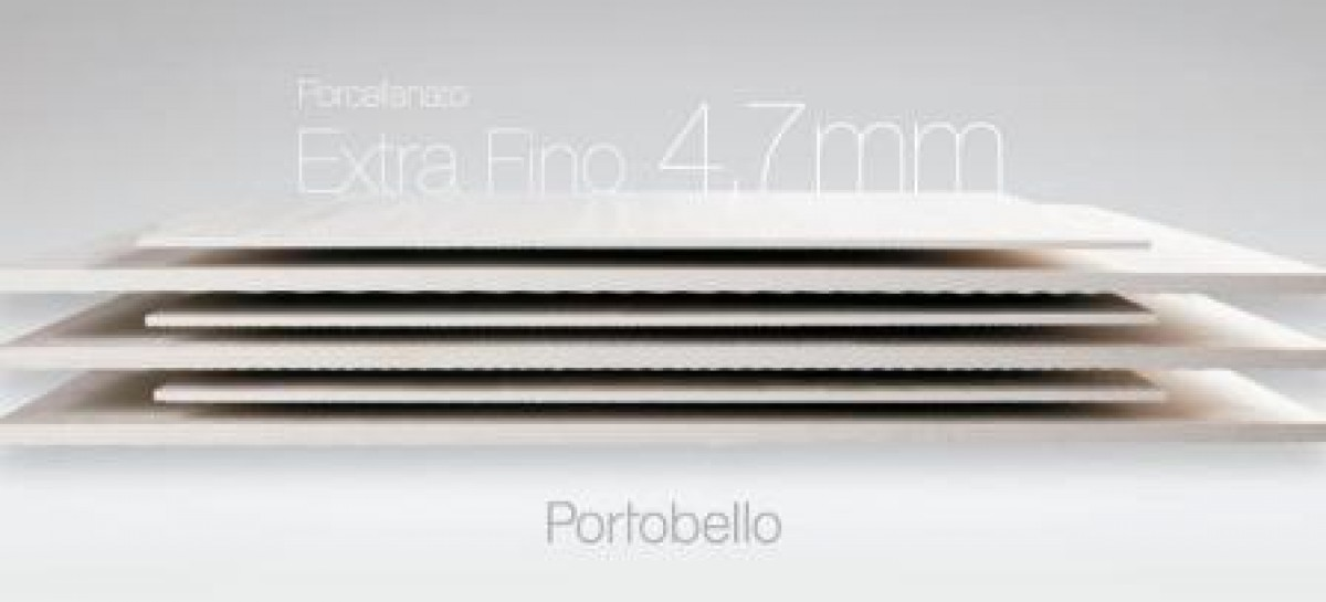 Porcellanato Extra Fino 4,7 mm