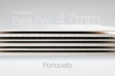 Porcellanato Extra Fino 4,7 mm