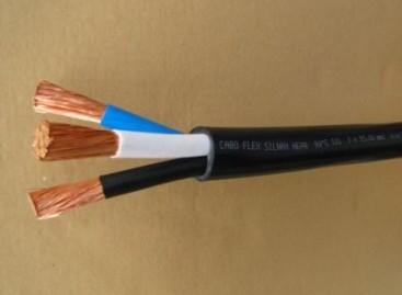 Cabo flexível para instalações elétricas fixas