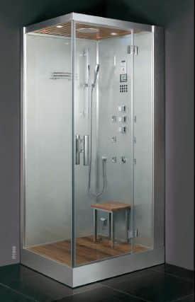 cabine de banho sofistica o e eleg ncia para o banheiro reforma f cil. Black Bedroom Furniture Sets. Home Design Ideas