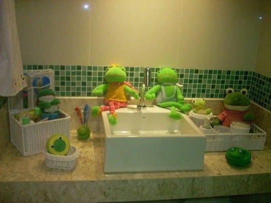 Decoração Mística; Sapos  Reforma Fácil -> Decoracao Banheiro Facil