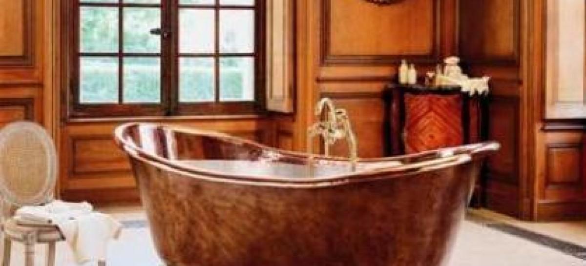 Banheira de luxo