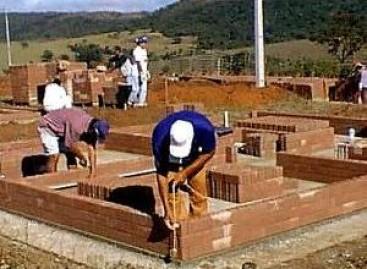 Índices da produção da construção civil sobem novamente