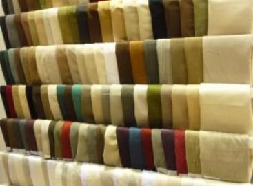 Tecidos e revestimentos de parede