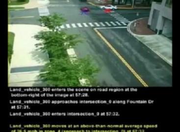 Câmera de Segurança Inteligente; Descreve o que Vê