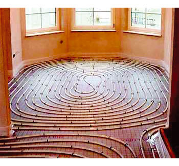 O frio fora da sua casa com piso radiante reforma f cil - Estufas de lena para calefaccion con radiadores ...