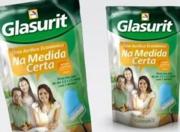 Glasurit: tintas em embalagens econômicas