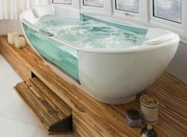 Banheira e misturador inteligentes
