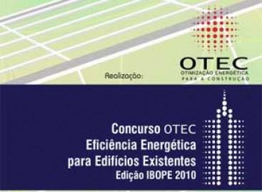 Concurso Otec de Eficiência Energética para Edifícios Existentes
