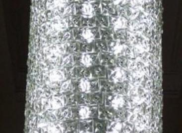Restauração de vidro e cristal