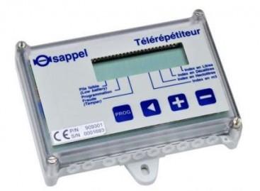 Telerepetidor: para medidores de água de difícil acesso