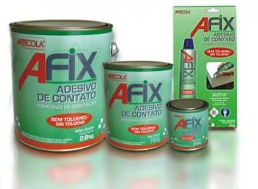 Afix: adesivo de alta resistência