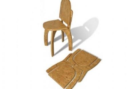 Criatividade e Sustentabilidade em Um Só Produto; Cadeira Tangram