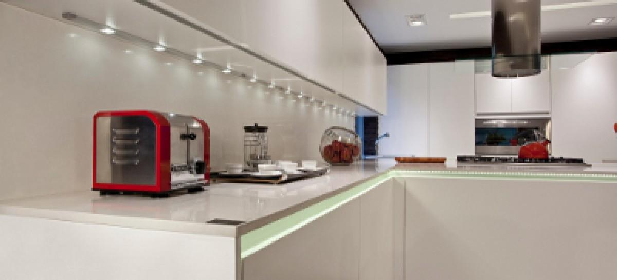 A praticidade das cozinhas planejadas
